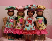 Doll Clothes - Doll Apron - Add a Matching Doll Apron - Cupcake