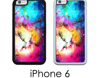 iPhone 6S 6 or PLUS Space Nebula Unicorn Nebula Outer Space Nebula Stars in the Sky Your Choice of Trim Hard, Rubber or Tough Cases
