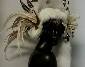 Headdress by Creatrix by Willow