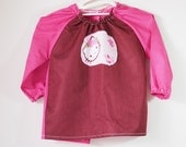 Art smock for toddler age 2 to 3 years. Hello Kitty.