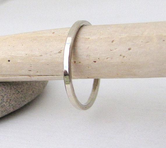 plain white gold wedding band s gold wedding ring