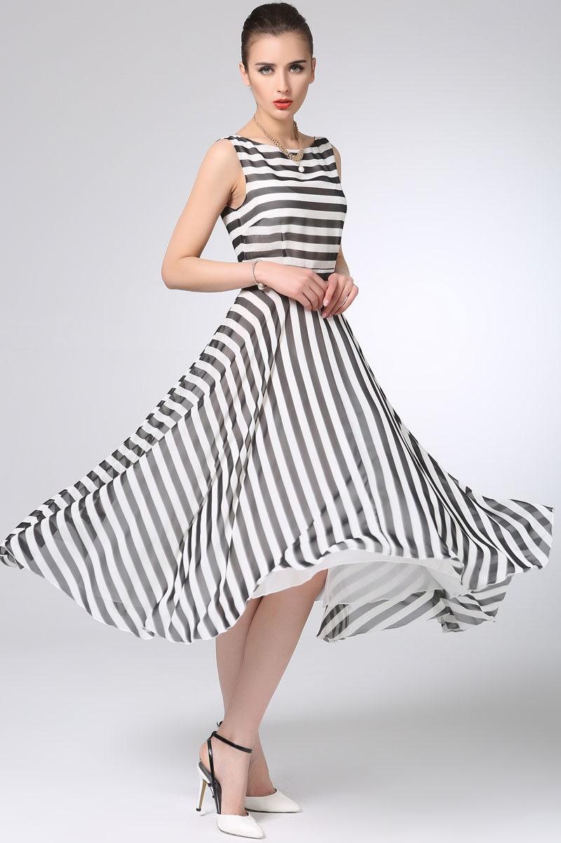 White black Stripe chi...