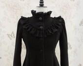 black gothic victorian coat style EU 38/40 (S/M)