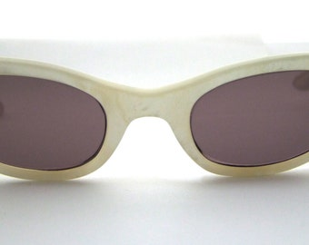 Rare  1950's Cateye Cats eye  Eyeglasses  with new Sunglass lenses / Pin Up / made in France