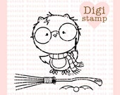 Harry Potter Owl and Accessories Digital Stamp Set