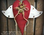 Winged Heart Bowl Filler or Tuck for Valentines Day