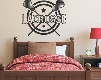 Lacrosse - Sports Wall Decals