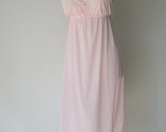 Vintage Pink LAce Nightgown by GlenCraft