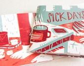 sick days - mini zine - comic