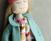 Little Miss Lettie Cloth Doll