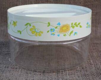Vintage Pyrex Wildflowers Pattern Canister/Jar
