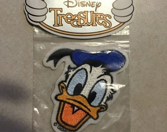Donald Duck Disney Embroidered Patch