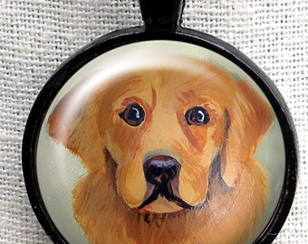 Golden Retriever Necklace  ~ Birthday Gift ~ Dog Jewe ~ Pet Keepsake ~ January Birthday ~ Gifts for Her