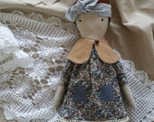 Cloth Doll - Nora by moose & bird