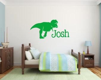 Dinosaur Vinyl Etsy - Custom vinyl wall decals dinosaur