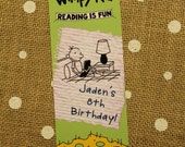 Diary of a Wimpy Kid Bookmark