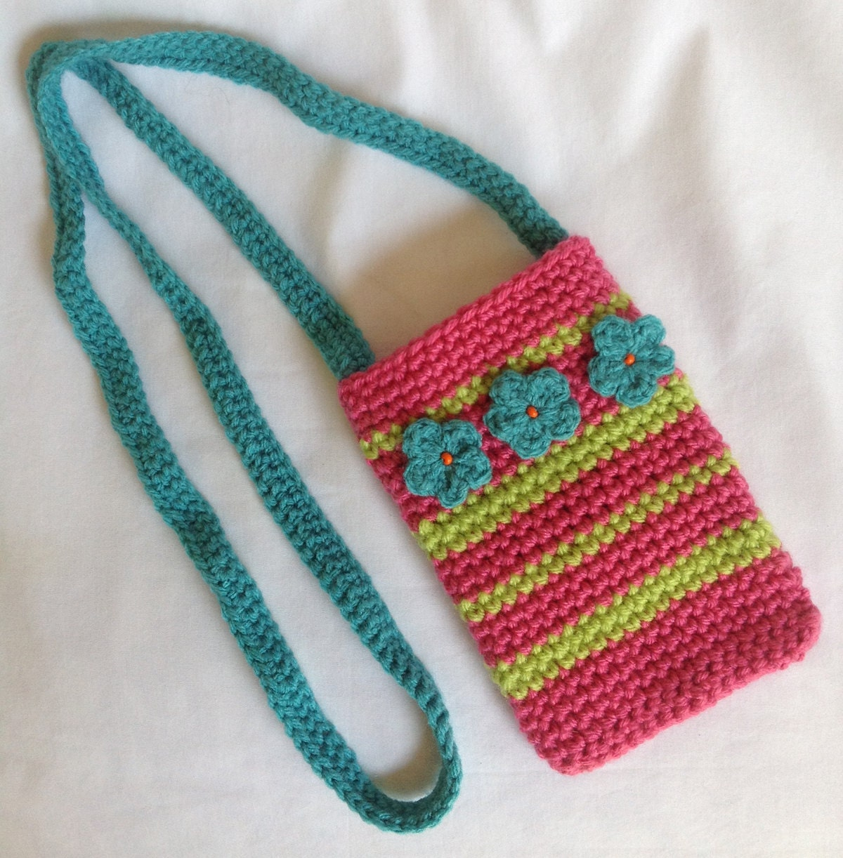 Crochet Crossbody Bright Crochet Cross Body Crossbody Bag