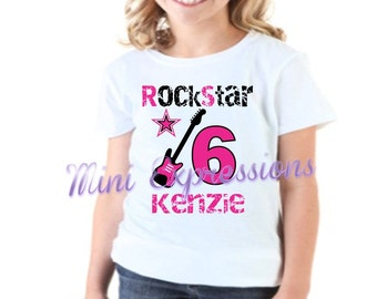 RockStar Birthday shirt