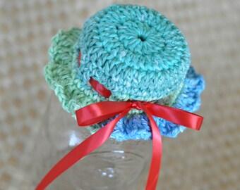 PDF Mason Jar Bonnet Crochet Pattern