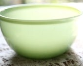 Fire King Jadeite Nesting Bowl ~ Vintage Ovenware