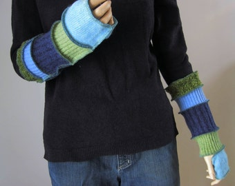 Arm Warmers made from Recycled Sweaters