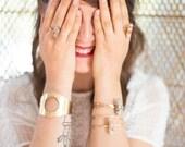Daybreak Brass Statement Cuff | Southwestern Cuff Bracelet | Bohemian Gypsy Style