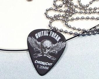 Guitar Freak Necklace - Guitar Pick Necklace