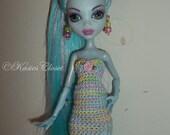 Crochet Mini for Monster High dolls