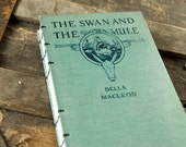 1922 SWAN and the MULE Vintage Lined Notebook Journal