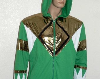 Hoodie, Green Power Ranger Hoodie