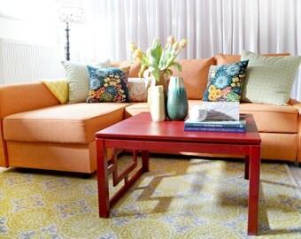 Medida ikea manstad sof cama funda estilo de por comfortworks - Funda sofa manstad ...
