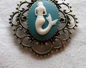 Mermaid Tattoo Cameo