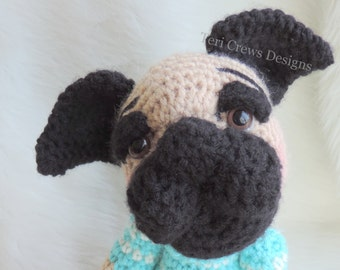 Cute Pooch Puppy Crochet Pattern by Teri Crews
