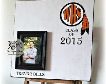 Graduation Gift, Graduation Party Decorations, Guest Book, 20x20 The Sugared Plums Frames