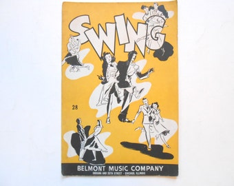 Swing Music Booklet, 1940, Belmont Music Company