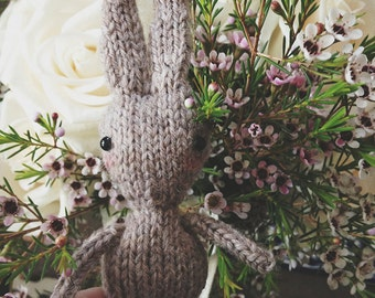 Hazel & Hattie Bunny Knitting Pattern