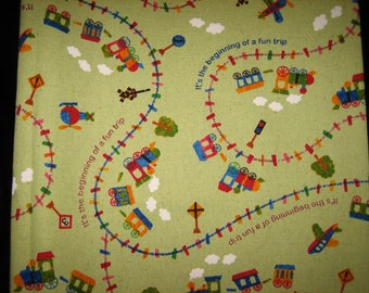 Fun Trip Journey fabric imported BTY