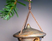 Christmas Ornament - Miniature Handcrafted Birdhouse