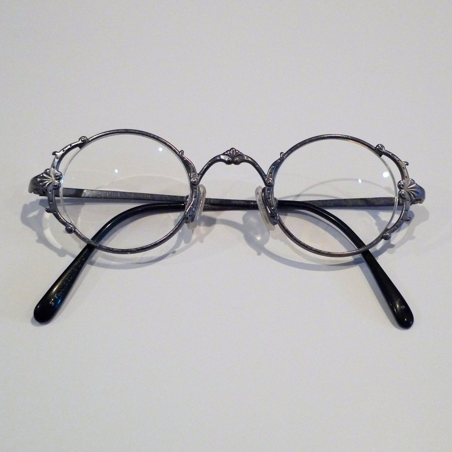 Jean Paul Gaultier Eyeglasses And Case Vintage Door Hinge