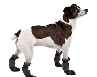 RAT TERRIER Dog Booties, Dog Boots, Snow Boots, Small Dog Clothing, Dog Clothing, Dog Accessories