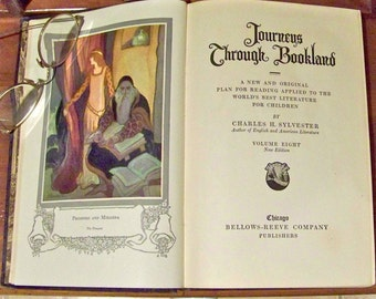 Vintage Journeys Through Bookland 1922 Classic Children's Stories By Charles Sylvester Volume Eight Homeschool