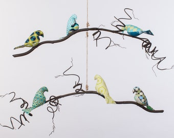 Dillon Collection - Single or Double Tier Bird Mobile
