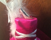 Pretty in Pink - A Tiny Top Hat