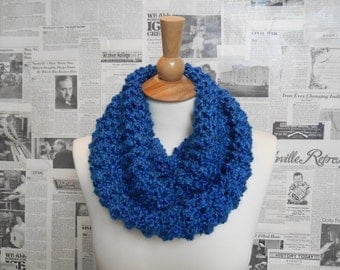 Spectacular Blue Cowl