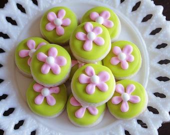 5 dozen Daisy Mini Cookie Nibbles