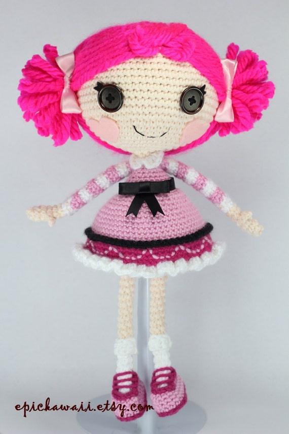 Sock Monkey Amigurumi Pattern : PATTERN: Toffee Crochet Amigurumi Doll by epickawaii on Etsy