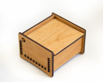 "4"" Bench Box - Natural Design"
