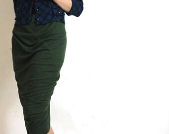 Plaid Vintage Short Plaid Jacket Blue Green Mod Button Up Cardigan Knit Jacket xs s