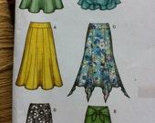 EASY SKIRT TRENDY Skirt Misses Simplicity 2449 Multi Sizes Simplicity Easy Pull On Skirt with 6 Styles Sizes 2010 Sizes 14 16 18 20 22 Skirt