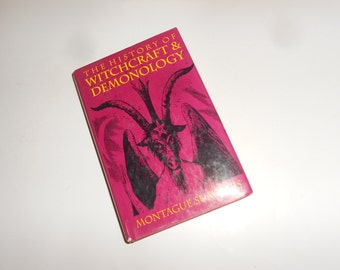 """Witch's Book """"The History Of Witchcraft & Demonology""""- Montague Summers - 1992 Publication"""